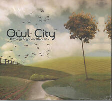 Owl City All Things Bright and Beautiful CD NEU limited Box mit T-Shirt Angels