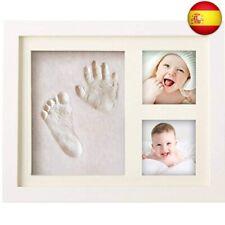 BraceTek - Kit de Marco Para Manos y Huellas de bebé para niño y niña - marcos d