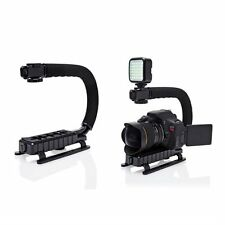 C Shape Bracket Handle Hand Grip Video Stabilizer For DSLR DV Camera Camcorder