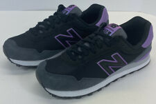New Balance 515 Womens Size 8.5 B Lifestyle Sneakers Black Purple Gray NWOB