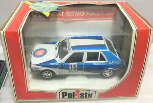 RARE BOXED * Polistil Fiat Ritmo Rally*AMAZING CAR ***** 1:25 Scale