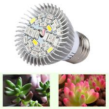 28W E27 LED Crecer Luz Bombilla de Relleno Espectro Completo UV IR para Plantas
