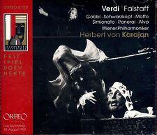 Herbert von Karajan VERDI Falstaff CD NEW Gobbi Schwarzkopf Moffo