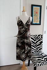 Laundry Segal Spaghetti Strap Front Knot Floral Sundress Sz 10 Dress