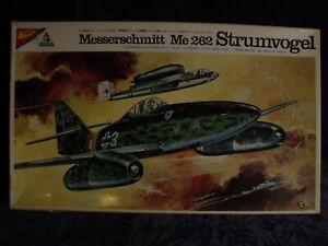 1/48 Me262  BY NICHIMO No 4812 -350 {RARE KIT}  FIRST 1/48 262