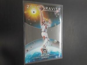 Zach LaVine 2020-21 Clearly Donruss Zero Gravity #6 Chicago Bulls H23