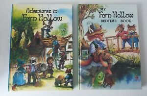 Set of 2 Tales From Fern Hollow Children's Story Books by John Patience