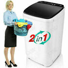 8KG Portable Mini Twin-Tub Compact Washing Machine Washer Spin Dryer 8 Levels_`` photo