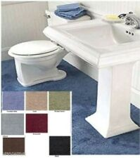 REFLECTIONS BATHROOM WALL TO WALL CARPETING, CUT TO FIT BATH RUG