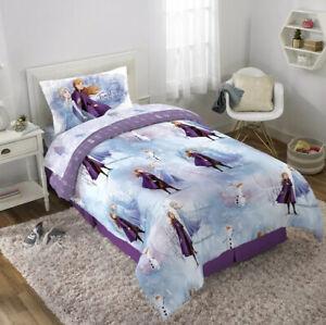 Disney Frozen II 4 Piece Twin Bed In A Bag Plus Bonus Tote