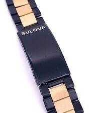 NOS New Bulova Bear correa strap bracelet original vintage 17 mm recambio part