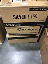 Monitor Audio Silver 50 Bookshelf Speakers Black Oak Brand New In Box