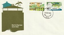 1975 Niue FDC cover Turism