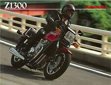 KAWASAKI Brochure Z1300 G ZG1300 KZ1300 1984 1985 Sales Catalog Catalogue REPRO