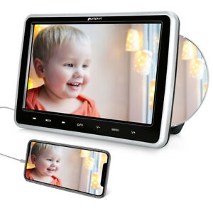 "Pumpkin 10.1""HD Slot-in Car Headrest Monitor Portable DVD Player TV Screen HDMI"