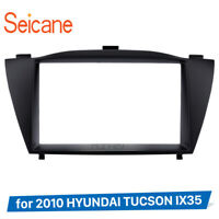 2 Din  Car Radio Fascia for 2010 HYUNDAI TUCSON IX35 Install Frame DVD panel