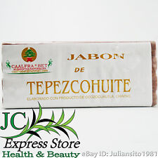 TEPEZCOHUITE SOAP NATURAL BURNS WOUNDS PIMPLES BLACKHEADS SPOTS DANDRUFF UNISEX