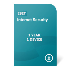 Eset internet Security 2020 for PC [ 1 YEAR , 1 DEVICE ]  Global Key License
