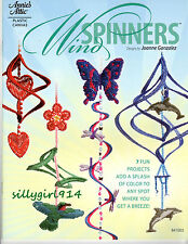 """""""WIND SPINNERS""""~Annie's Plastic Canvas PATTERN BOOK ONLY~7 Projects~SEE PICS"""