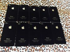 Original Apple iphone 4 GSM back cover black color  lot of 10