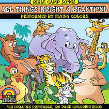 FREE US SHIP. on ANY 2 CDs! NEW CD Bible Camp Songs: Bible Camp Songs: All Thing