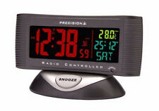 Precision Radio Controlled Alarm Clock With Temperature PREC0019
