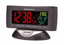 Precision Radio Controlled Alarm Clock With Temperature PREC0019