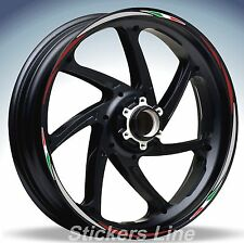 Adhesivos ruedas motorrad tiras YAMAHA FAZER 600 800 1000 stickers wheel Rac.4