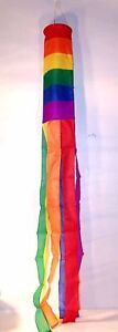 RAINBOW WINDSOCK wind socks flag gag novelty sox banner pride stripes colors