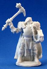 1 x HALBARAND PRETRE - BONES REAPER figurine miniature cleric guerrier d&d 77089