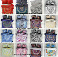 Indian Duvet Doona Cover Comforter Mandala Hippie Bohemian Twin Quilt Cover Set