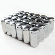 """32 Heavy Duty Conical Seat Lug Nuts 7/8"""" HEX 9/16"""" Thread, 1.87"""" tall For E150"""