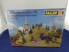 """Bausatz Faller 5-teiliges Set """"Landschafts-Set"""" in Größe HO, neu + OVP (H804) A"""