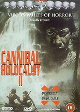 Cannibal Holocaust II DVD Marco Merlo Fabrizio Merlo UK Release New Sealed R2
