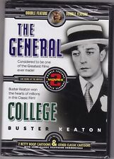Double Feature Wholesale Lot of 30 New Dvd Buster Keaton - The General