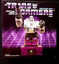Transformers Megatron Limited Edition Bust Art Asylum Diamond Select 2007 Statue