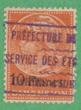 France Dimension Revenue Yvert #DI-79 used 10Fr 1922 cv $61
