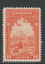 Canada 1927 Special Delivery-Attractive Transportation Topical (E3) MH