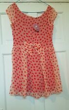 Traffic People Red Teacup Teapot Dress Size M - BNWT - Summer