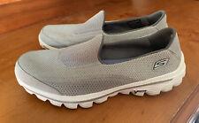 Skechers Go Walk 2 Ladies Size 8 Shoes Grey & White