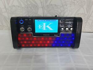 Easy Karaoke EKS780-BT Bluetooth Karaoke LED Party Lights Built In Speakers CD's