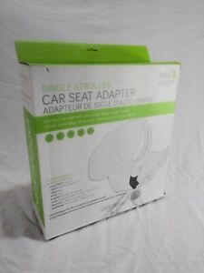 """Baby Jogger Single Stroller  Car Seat Adapter Compatible with """"8 Top Brands"""" New"""