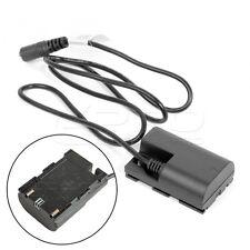 TILTA LP-E6 Dummy Battery Adaptor DC Coupler for Canon EOS 5DS 5D Mark III 6D 7D