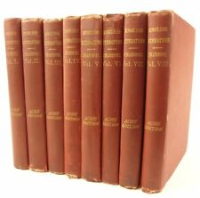 1879 Chamber's Cyclopaedia of English Literature (complete in eight volumes)