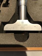 Mitutoyo Depth Gauge Micrometer