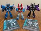 Transformers WFC Earthrise Thundercracker, Skywarp, Starscream