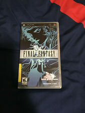 Used Square Enix Final Fantasy Sony Psp 2007
