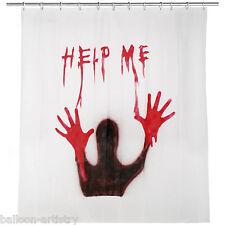 1.8 m Halloween Horror Sangue aiutarmi DOCCIA TENDA PARTY DECORAZIONE