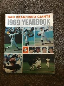 San Francisco giants 1969 yearbook