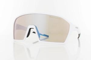 ALPINA Ram HVLM+ Radsportbrille mit Varioflex Mirror Glas - TOP Zustand